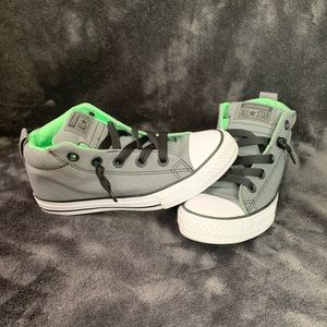 Boys high top converse sneakers